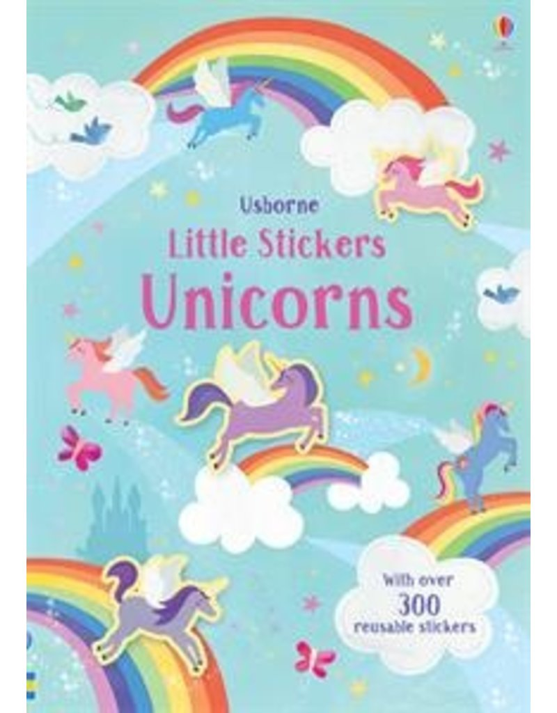 Usborne Little Stickers Unicorn