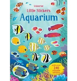 Usborne Little Stickers Aquarium