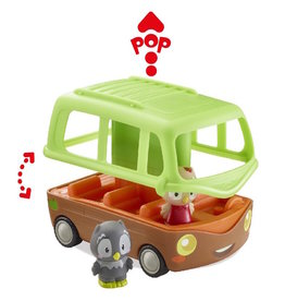Klorofil Timber Tots Adventure Bus