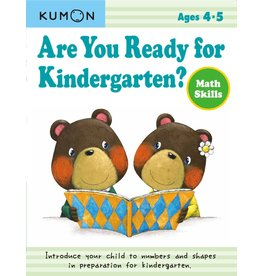 Kumon Are You Ready for Kindergarten Math