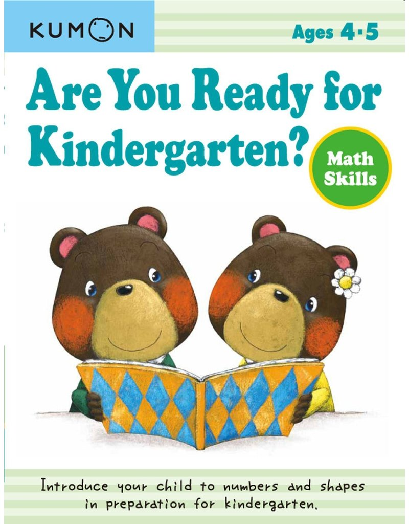 Kumon Are You Ready for Kindergarten Math