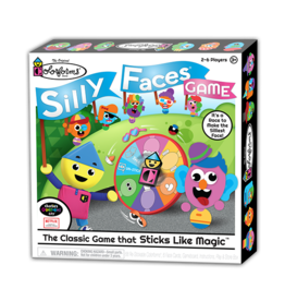 Kahootz Colorforms Classic Silly Faces Game