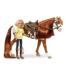 Breyer Boomerang and Abigail