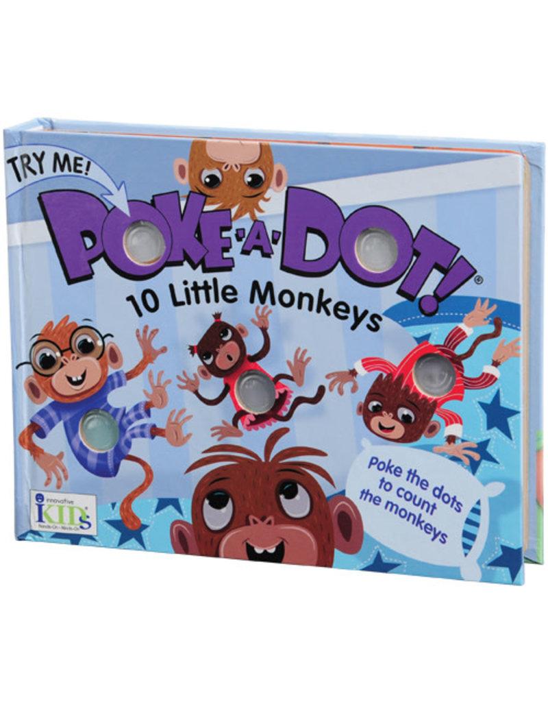 Melissa and Doug 10 Little Monkeys Poke-a-Dot