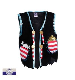 Liontouch Red Stripe Pirate Vest