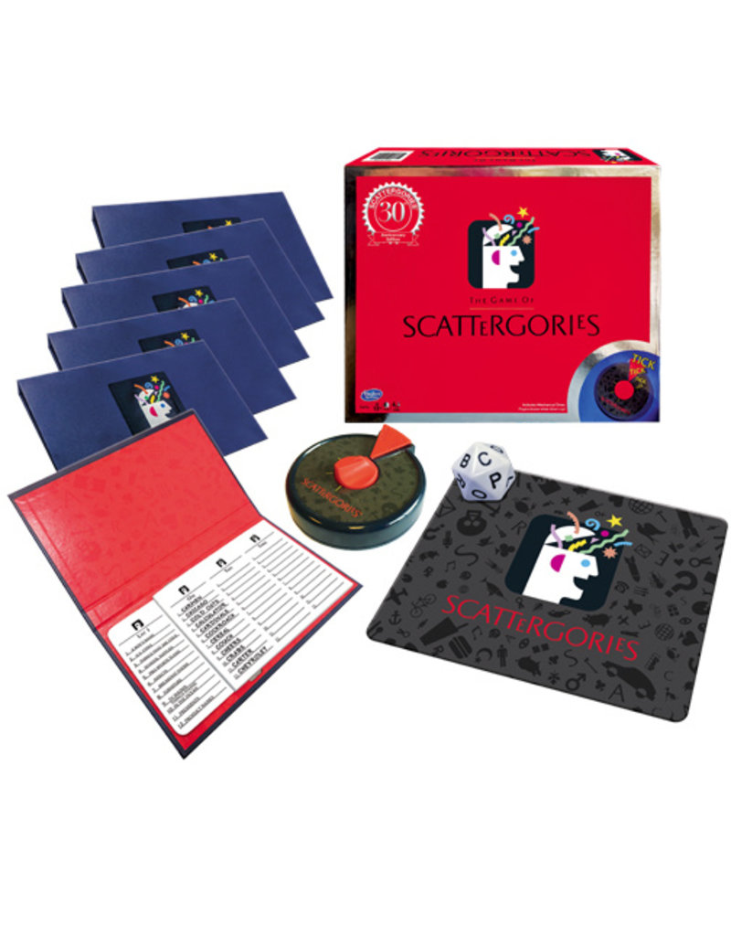 Winning Moves Scattergories 30th Anniv Ed