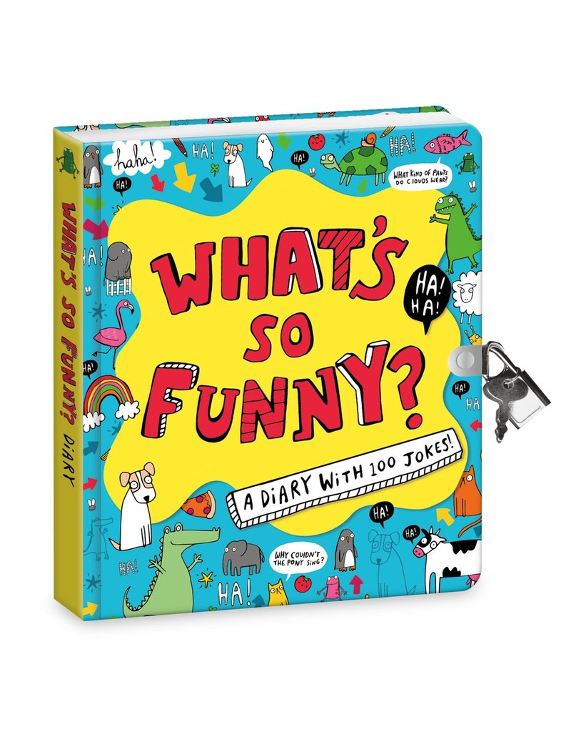 Peaceable Kingdom What's So Funny Diary