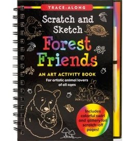Peter Pauper Scratch & Sketch Forest Animals
