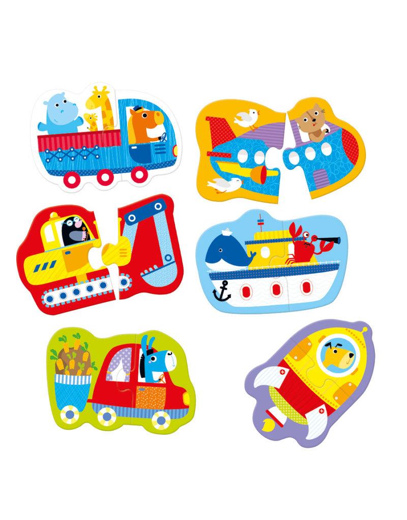 Puzzle Pairs Vehicles