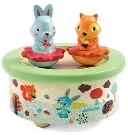 djeco Music Box Friends Melody