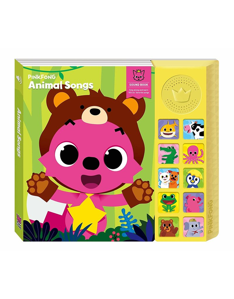 California Creations Pinkfong Animal Songs Sound Book
