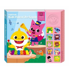 California Creations Pinkfong Kid's Favorites Sound Book