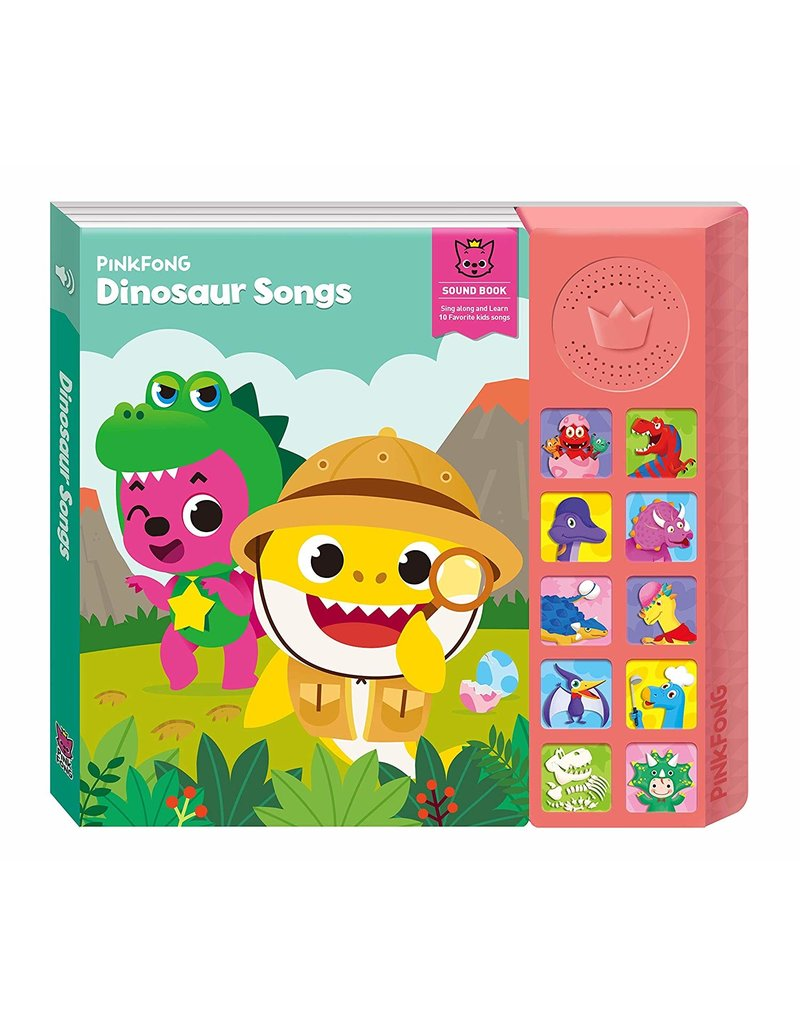 California Creations Pinkfong Dinosaur Songs Sound Book