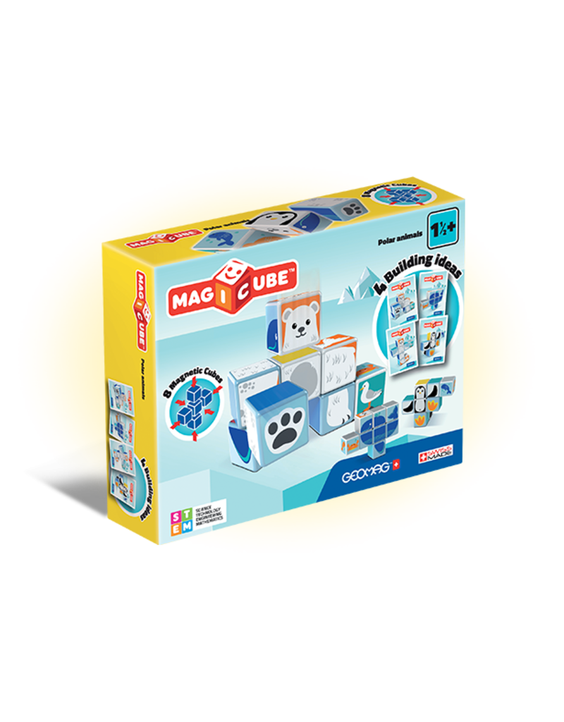 Geomag Magicube Polar Animals