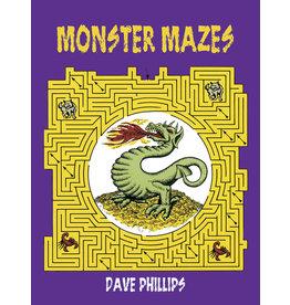 Dover Monster Mazes