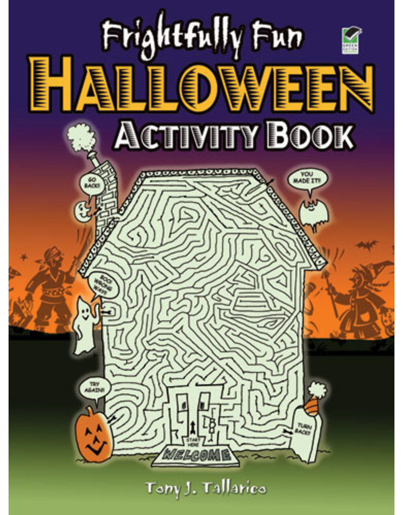 Dover Frightfully Fun Halloween Activity Book