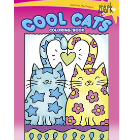 Dover SPARK Cool Cats Coloring Book