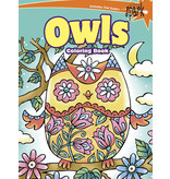 Dover SPARK Owls Coloring Book