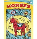 Dover SPARK Horses Coloring Book