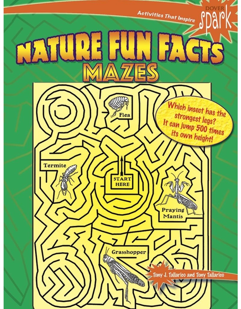 Dover Nature Fun Facts Mazes