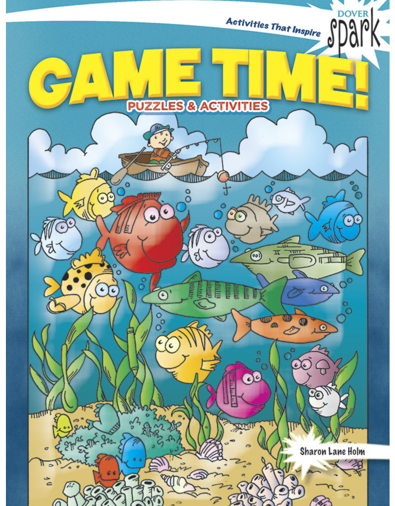 Dover Game Time, Puzzles & Activities