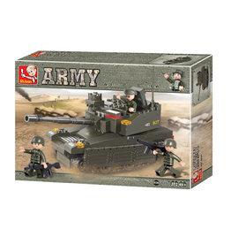 Texas Toy Army Tank 224 pc