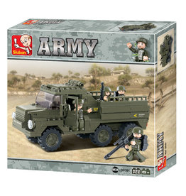 Texas Toy Army Truck 230 pc