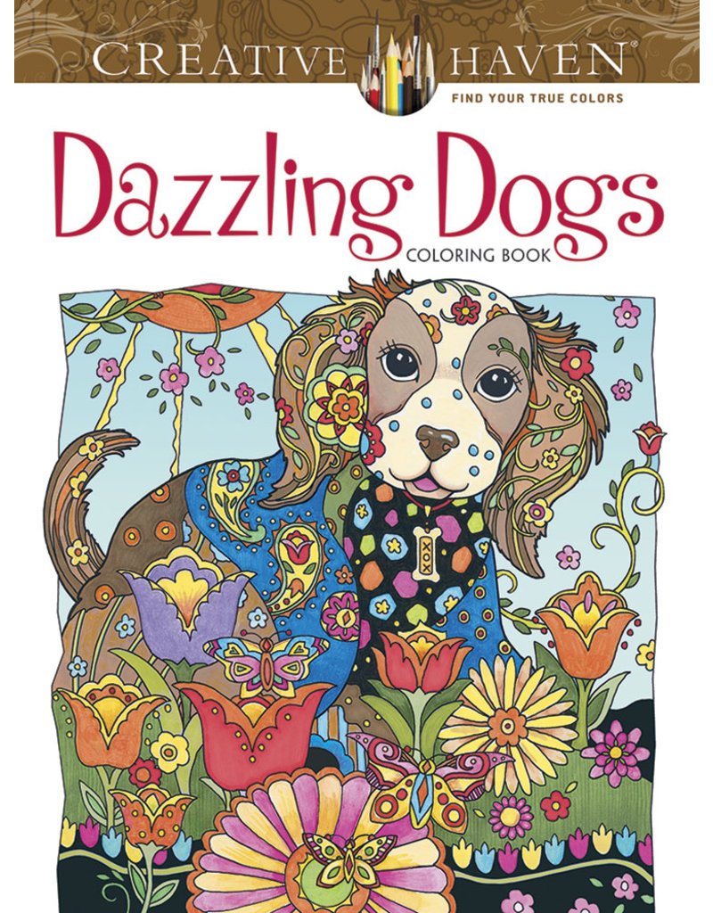 Dover Dazzling Dogs Coloring Book