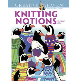 Dover Knitting Notions Coloring Book