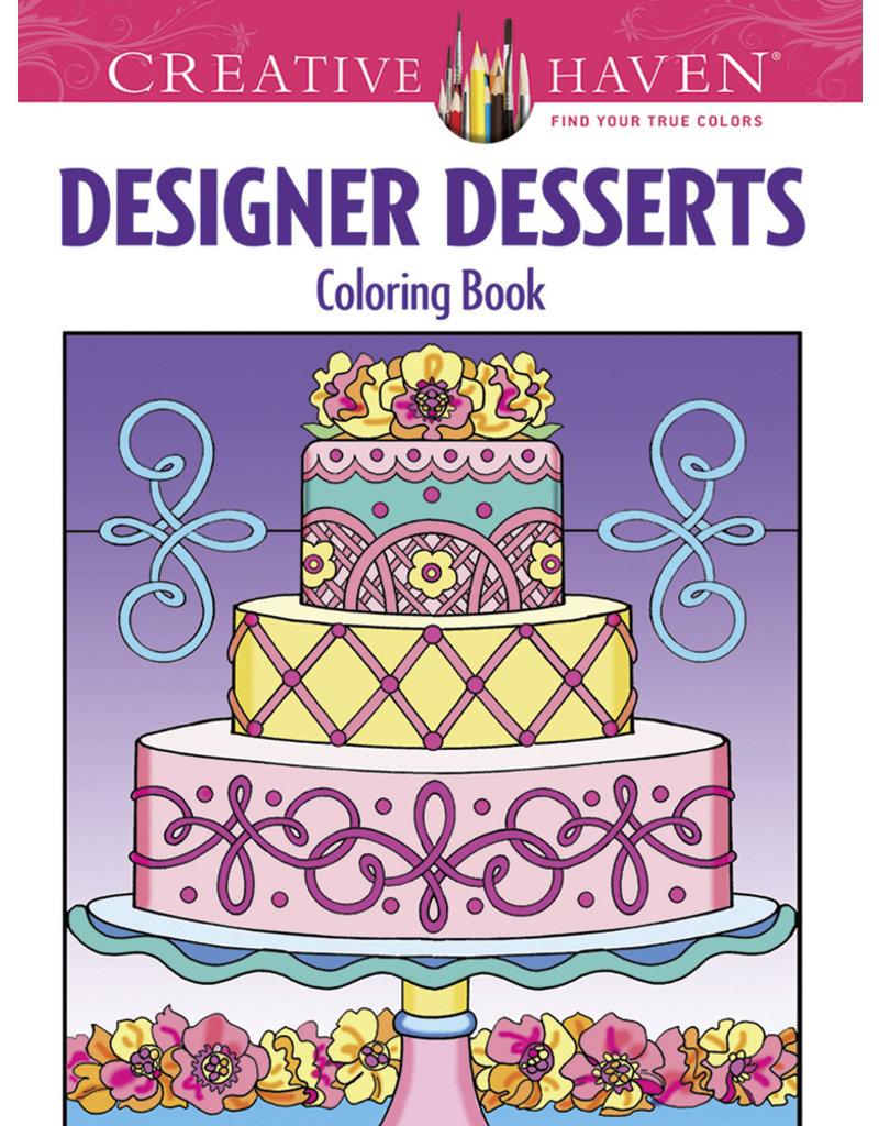 Dover Designer Desserts Coloring Book