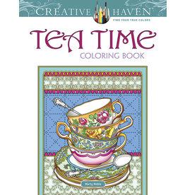 Dover Tea Time Coloring Book