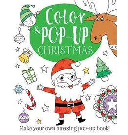 Usborne Color & Pop-Up Christmas