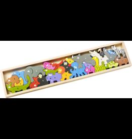 BeginAgain Animal Parade A to Z Puzzle