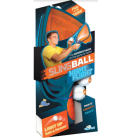 Blue Orange Djubi Slingball Night Flyer