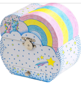 djeco Treasure Boxes Unicorn Dream
