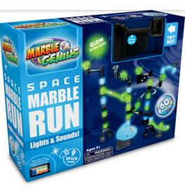 Marble Genius Space Marble Run Light & Sound