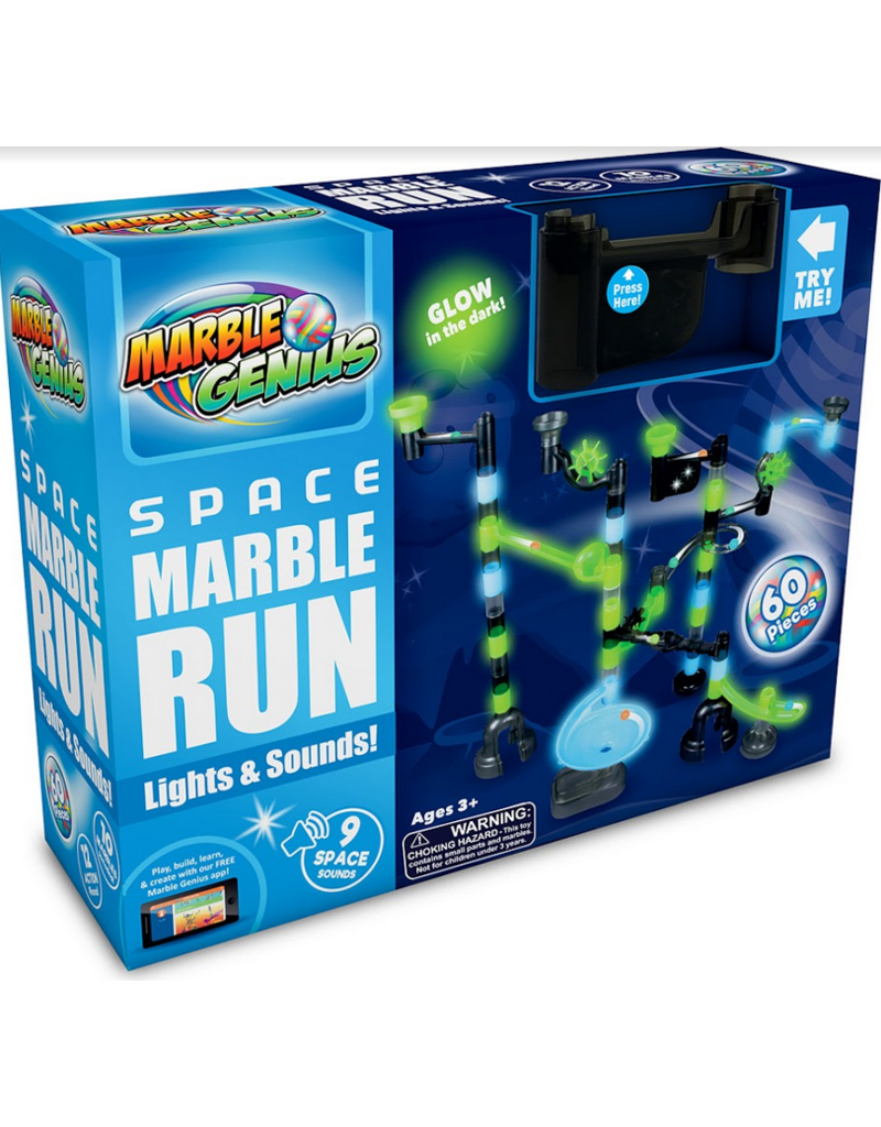 Marble Genius Space Marble Run Light & Sound