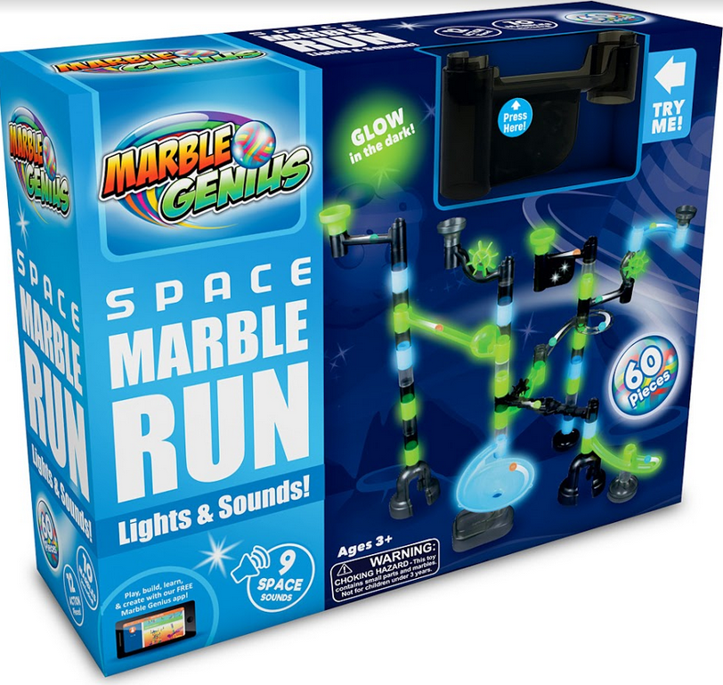 Space Marble Run Light Amp Sound Castle Toys And Games Llc