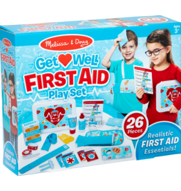 Melissa & Doug Get Well First Aid Playset