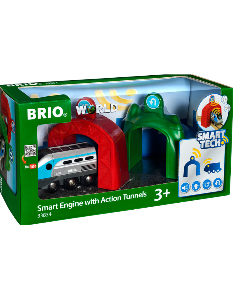 Brio Smart Engine with Action Tunnels