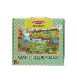 Melissa & Doug Dinosaurs Giant Floor Puzzle 35 pc