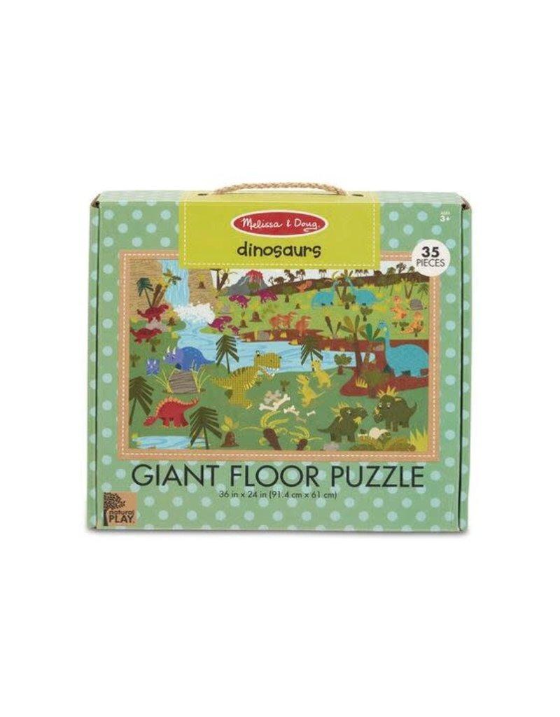 Melissa & Doug Dinosaurs Giant Floor Puzzle 35 pc