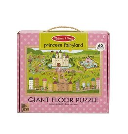 Melissa & Doug Princess Fairyland Giant Floor Puzzle 60pc