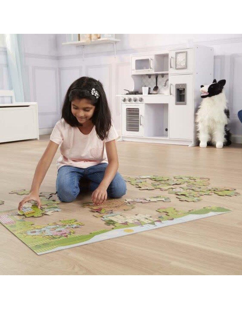 Melissa & Doug Princess Fairyland Giant Floor Puzzle 60pc