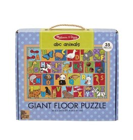 Melissa & Doug ABC Animals Giant Floor Puzzle 35pc