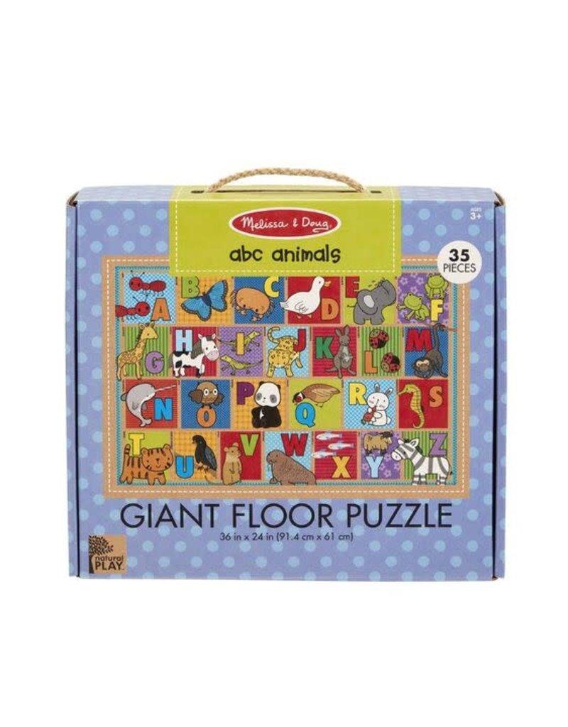 Melissa & Doug ABC Animals Giant Floor Puzzle 35pc