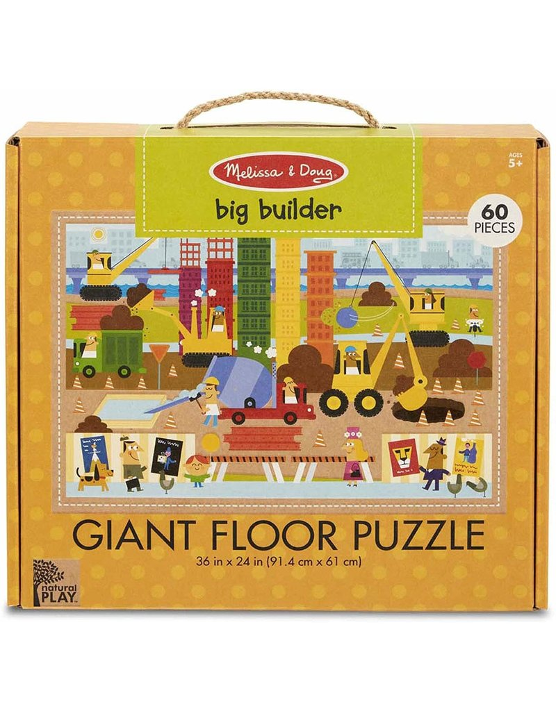 Melissa & Doug Big Builder Giant Floor Puzzle 60pc
