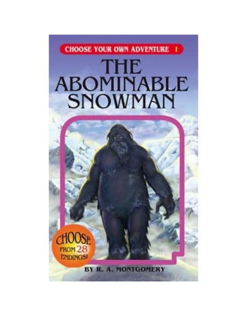 CHOOSECO THE ABOMINABLE SNOWMAN