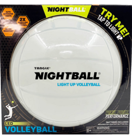 Tangle Creations NightBall Volleyball Pearl White