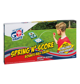 Toysmith Spring N' Score Bounce Game